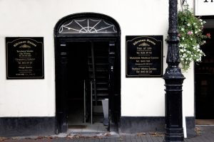 Malahide Clinic - front door